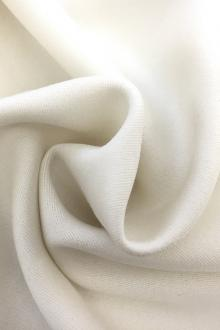 English Heavy Wool Satin in Ivory0