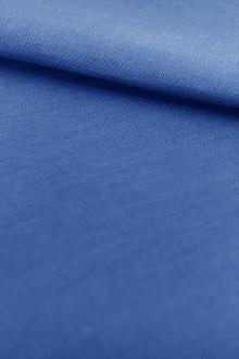 Silk and Cotton Voile in Royal0
