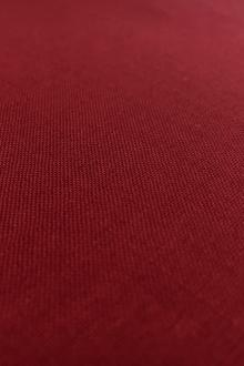 Italian Wool Lycra Suiting in Bordeaux0