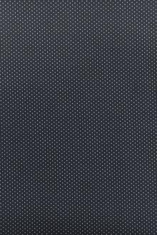Cotton Broadcloth Petite Dot Print in Charcoal0