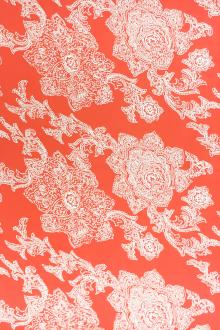 REDUCED Printed Silk Twill with Paisley Patterns0