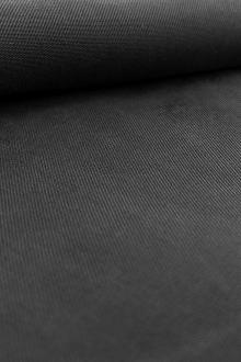 Cupro and Viscose Blend Soft Twill in Black0