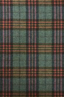 Merino Wool and Cashmere Flannel Plaid0