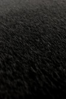 Italian Baby Alpaca And Cashmere Coating in Black0