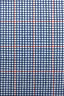 Ultralux Merino Wool Super 150s Plaid Suiting0