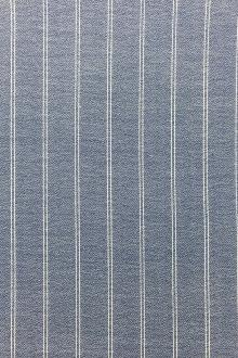 Japanese Cotton Rayon Blend Striped Crepe0