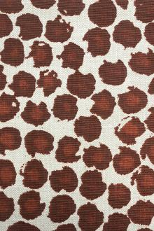 Sierra Animal Spots Cotton Blend Upholstery Print0
