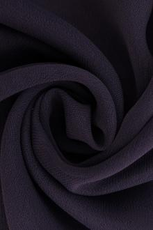 Iridescent Polyester Chiffon in Slate0
