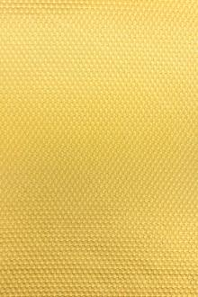 Stretch Cotton Poly Blend Pique in Yellow0