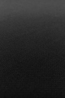Poly Rayon Spandex Suiting in Black0