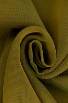 Iridescent Polyester Chiffon in Moss0
