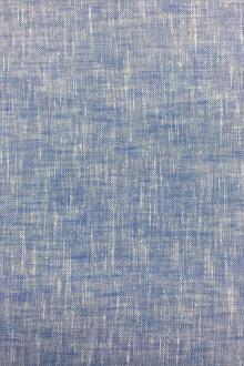 Extra Wide Poly Cotton Sheer Mesh in Blue0