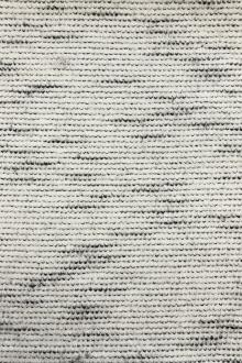 Poly Wool Blend Novelty Felted Knit in White0