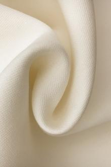 Italian Heavy Silk and Wool in Ivory0