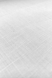 Extra Wide Light Weight Linen in White0