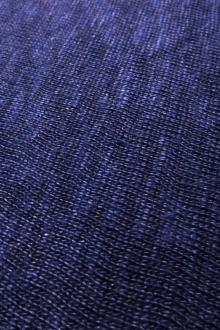 Linen Knit in Blueberry0