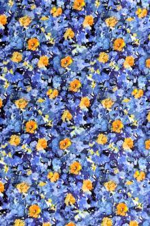 9818e087a2a Viscose Print with Small Florals. $26.95 per yard