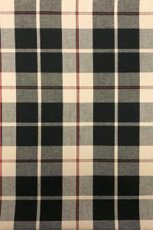 e72728ac480e Japanese Cotton Plaid in Tan and Black