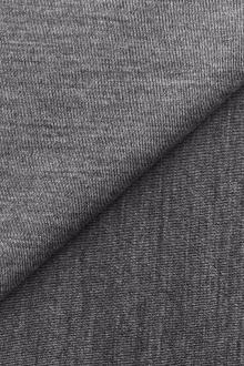 3251da15901 Austrian Virgin Wool Double Knit in Heather Grey. $82.95 per yard