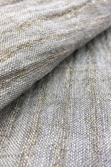 2ae50e492fe Crinkled Linen Gauze with Metallic Stripes