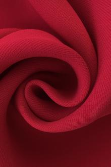 6Ply Silk Crepe in Bright Red0