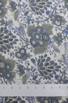 SALE PIECE Liberty of London Printed Silk Chiffon0