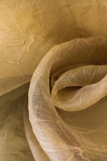 Crushed Silk Organza in Sand0