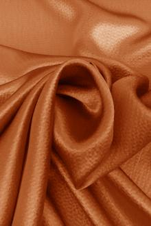 Hammered Silk Charmeuse in Orange0