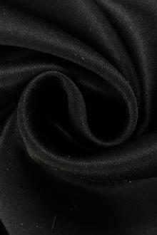 Double Face Silk Charmeuse in Black0