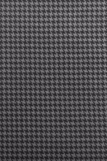 Italian Wool Houndstooth in Greys0