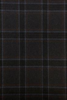 Italian Virgin Wool And Lycra Plaid Suiting0
