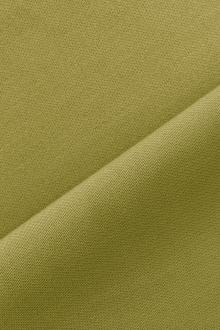 Italian Wool Satin Faille in Apple Green0