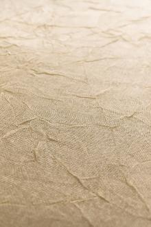 Crushed Silk Organza in Natural0