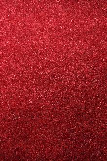 Heat Transfer Polyester Glitter Adhesive in Red0