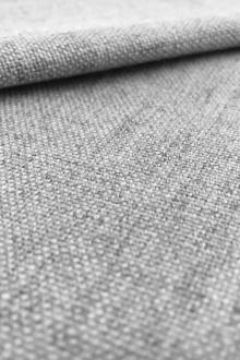 Linen Like Polyester in Light Grey0