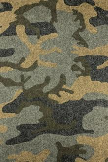 Wool Camouflage Coating0
