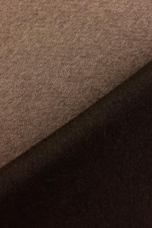 Italian Cashmere Doubleface Coating in Chamoisee And Brown0