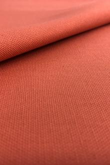 7.5oz Cotton Canvas in Coral Red0