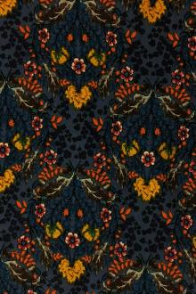 Rayon Crepe Georgette Print with Flowers 0