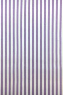 Pima Cotton Shirting Stripe in Violet0