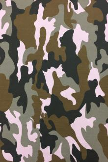Cotton Twill Camouflage 0