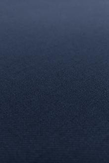 Poly Wool Stretch Gabardine in Classic Navy0
