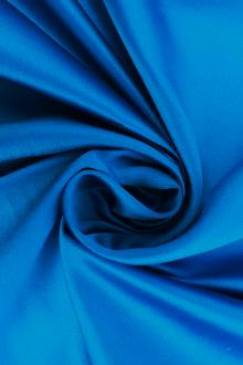 Silk Duchesse Satin with Tropic Blue0