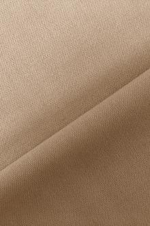 Italian Wool Satin Faille in Khaki0