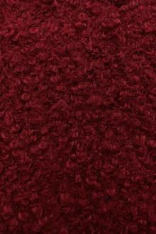 Boucle Knit in Carmine0