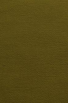 Wool Double Crepe in Army Green0