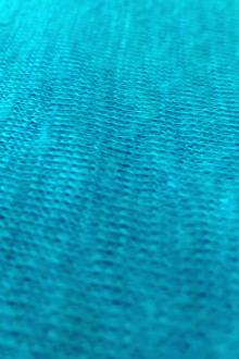 Linen Knit in Turquoise 0