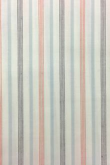 Japanese Woven Striped Cotton Shirting0