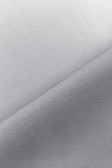 Italian Wool Satin Faille in Silver Gray0
