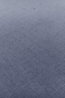 Linen Suiting in Slate Blue0
